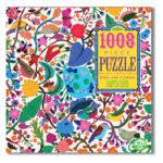 eeBoo 1008片家庭式拼圖 -鳥語花香 (Birds and Flowers - 1008 piece puzzle)