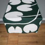 北歐風設計師款 - 荷花桌旗, 深綠 Water lilies Table Runner, Green