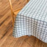 北歐風設計師款 - 格子桌巾, 墨綠 (147X147cm) Rutig Tablecloth, Green