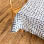 北歐風設計師款 - 格子桌巾, 黑 (147X147cm) Rutig Tablecloth, Black