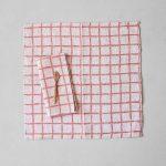北歐風設計師款 - 方格餐巾二入組(紅) Rutig Napkins 2-pack, Red