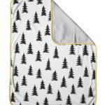 森林有機棉毯 (黃邊) - GRAN ECO CHILD BLANKET (yellow edge)