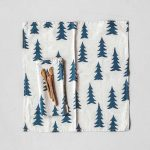 北歐風設計師款 - 冷杉餐巾二入組(亞麻 / 午夜藍) Gran Napkins 2-pack, Nature / Midnight Blue