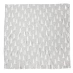 有機棉紗布包巾(森林 - 灰底) - GRAN MUSLIN BLANKET - Grey