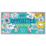 eeBoo 配對拼圖 -- Opposites Puzzle Pairs (相反詞配對拼圖)