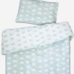 有機棉被套枕套兩件組 - BJÖRN BED SET, SAGE GREEN