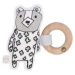澳洲Kippins有機棉櫸木固齒器- 比利小熊(BILLIE KIPLET™ RATTLE)