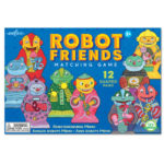 eeBoo 學齡前形狀配對遊戲 -- Robot Friends Matching Game (機器人款)