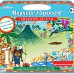 eeBoo 桌遊 --Volcano Island Make Me a Story 磁鐵遊戲板 - 火山島
