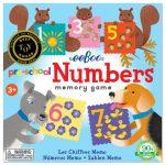 eeBoo 學齡前記憶遊戲 -- Pre-School Numbers Memory Game (數字款)