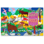 eeBoo 48 片超大地板拼圖 - 森林動物 (Woodland Animals)