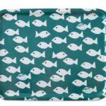 方型托盤-FISH TRAY, OCEAN (43 X 33 cm)