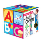 eeBoo 疊疊樂 - 字母及數字 Alphabet Tot Tower