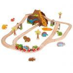 英國Bigjig火車軌道組-Dinosaur Train Set(恐龍)