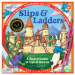 eeBoo 桌遊 --Slips & Ladders 龜兔競賽